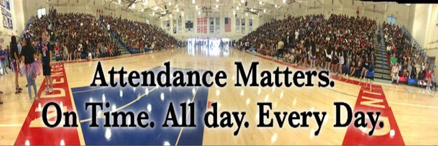 Attendance Matters. On time all day everyday